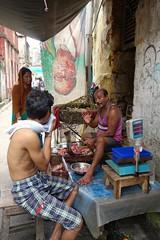 The Butcher,Kolkata - 017 (Rajesh_India) Tags: food india streetphotography butcher kolkata westbengal 2014