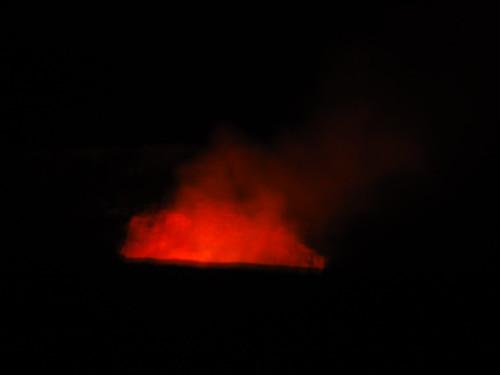 Halema'uma'u Crater at Night, Hawaii Volcanoes National Park