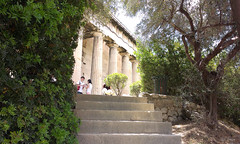 6 (original.intent) Tags: china from morning green beautiful greek temple mix ancient sunday sightseeing steps athens hephaestus greece lovely visitors dear pillars agora aspect cutlures