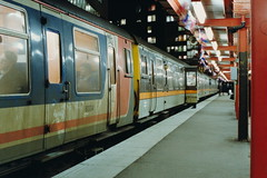 19900126 019 Holborn Viaduct. Final Hours Before Closure. Class 411 4-CEP 1509 (7126), 1576 (7192), 18.24 to Faversham (15038) Tags: electric br trains emu disused railways britishrail 1509 1576 holbornviaduct 7192 7126 4cep class411 lostlines