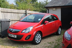 My new car- 2014 Vauxhall Corsa 1.2 Excite