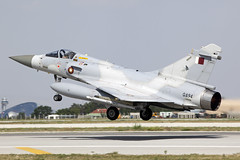 QA94_Mirage2000-5_QatarEmiriAirForce_KYA [Explored] (Tony Osborne - Rotorfocus) Tags: turkey 2000 force exercise eagle air mirage qatar konya dassault 2014 anatolian emiri 20009 deuxmille qeaf