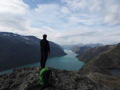 Overlooking the Jotunheimen National Park