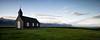 Búðir (Tobias Knoch) Tags: panorama 3 classic church clouds canon ball island iceland los sony shift ii 24mm blau alpha tobias tilt gitzo tse graduated density búðir neutral novoflex formatt knoch 2542 budir a7r cb3 hitech0 9sesoftedge 2542los