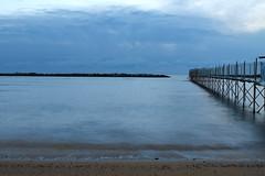 Bellaria Igea Marina (RIMINI) (rive1987 (Riverso Davide)) Tags: marina canon riviera italia mare alba rimini davide spiaggia igea bellaria 1100d riverso