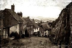 Gold Hill, Shaftesbury, Dorset (clivea2z) Tags: dorset shaftesbury