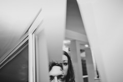We are that We are (La T / Tiziana Nanni) Tags: portrait selfportrait reflection mirror blackwhite luca nikon faces skin autoritratto biancoenero specchio riflesso iamyou d700 tizianananni ritrattodoppio