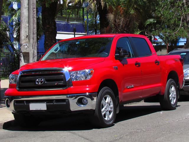 pickup toyota tundra camionetas sr5 redcars 57l iforce crewmax tundrasr5
