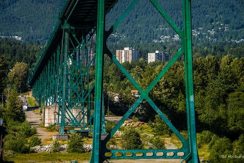 2014 - Vancouver - Alaska Cruise - Lions Gate Bridge - 2 of 3