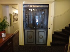 Golden Gate hotel elevator (DieselDucy) Tags: sanfrancisco california lift elevator ascensor elevador lyfta goldengatehotel lyftu vanemonelevator