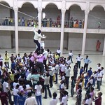 Teachers breaking  dahihandi 1