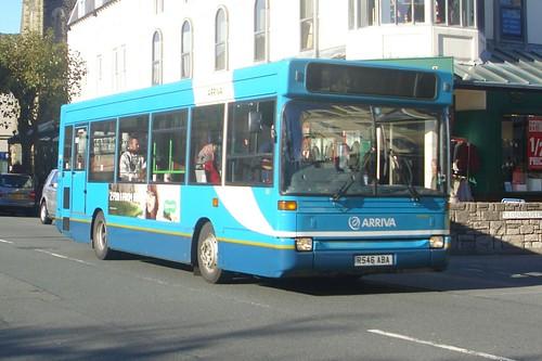 Arriva Cymru Dennis Dart MPD 9.3 Plaxton Pointer 801 (R546 ABA)