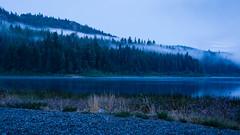 Kentucky Lake blue hour (PeterLademann https://ladpeter.wordpress.com) Tags: 2014 kanada thebluehour gh2 britishcolumbia kentuckyalleyneprovincialpark canada