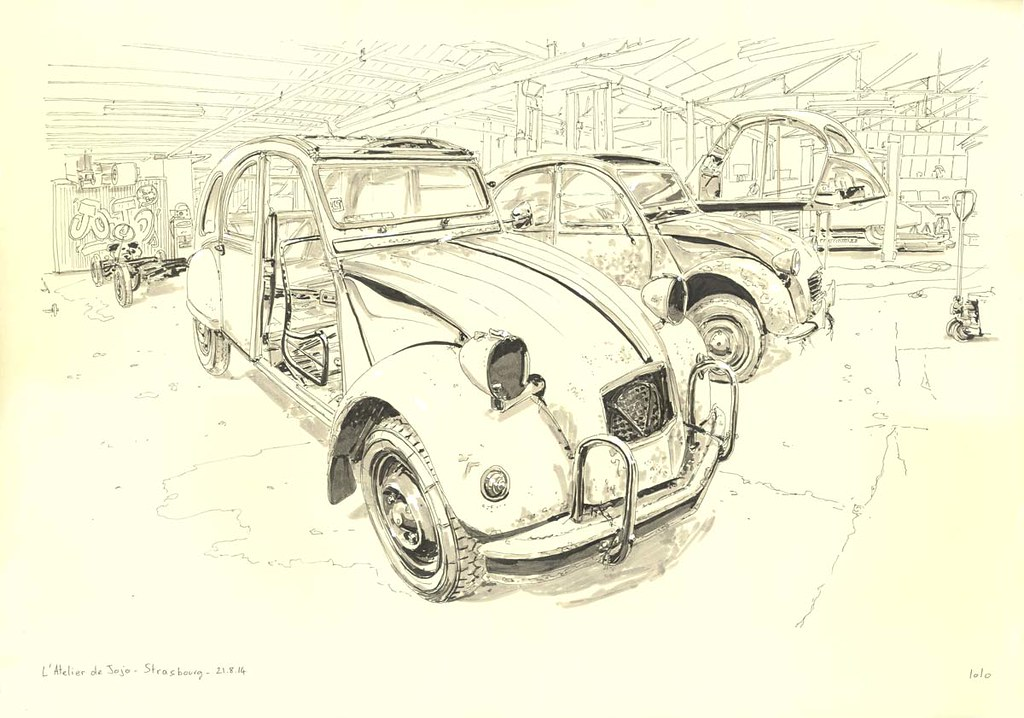 The World S Best Photos Of Car And Croquis Flickr Hive Mind