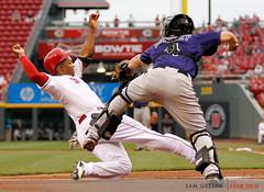 052615 REDSROCKIES (SGdoesit) Tags: ohio usa sports rockies colorado baseball cincinnati reds mlb majorleaguebaseball 052615redsrockies