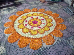 IMG_20170211_191523 (bhagwathi hariharan) Tags: rangoli kolam nallasopara nalasopara rose pooja christmas 2016 festivals mumbai goregaon prithvilandproject 2017 celebrations lordshani lordayyappa