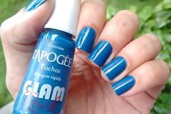 Esmaltação das Corujas: março - L'Apogée (Roberta_Rezende) Tags: corujaswhats lapogee colorama azul