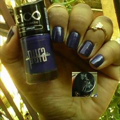 Abraçar - Eico (ACRibeiro) Tags: 2017 bluenailpolish esmaltevenenoso troquinha azulescuro nails eico cremoso esmaltecremoso