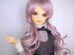 Purplely (sasurin) Tags: volks michele 2nd sdgrg sdgr bjd superdollfie purple