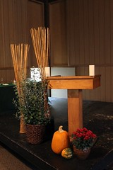 Liturgical Environment (ovolo_interiors) Tags: liturgicalenvironment liturgicalyear worshipspace prayerroom placeofprayer ordinarytime autumndecor ambo
