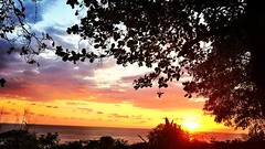 #sunset at #lacusinga #puravida #costarica