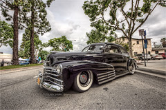 1947 chevy fleetline (pixel fixel) Tags: 1947 black chevrolet chino cornfedcarshow fleetline