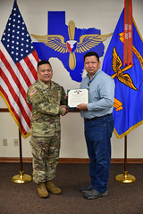 170309-A-6216A-306 (CCArmyDepot) Tags: ruben g ramirez received an achievement medal for civilian service exceptional performance outstanding leadership producing suicide awareness prevention training video which successfully increased throughout workforce contributed significantly depot's safety