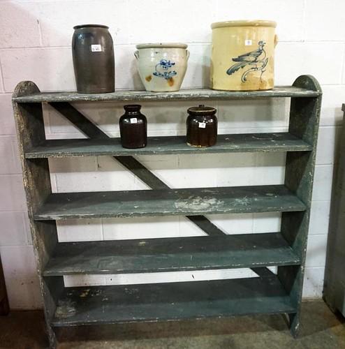 Primitive Painted Shelf ($168.00)