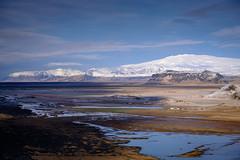 Eyjafjallajökull  from Dyrhólaey (Graeme Tozer) Tags: iceland eyjafjallajökull mountains landscape winter glacier snow