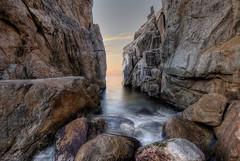 ... Cala S´Aguia .. (franma65) Tags: cala costabrava blanes calas´aguia amanecer mar mediterraneo