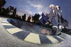 (lancepattison) Tags: ramp skateboarding sandy australia melbourne bowl grandpa sandringham skate trick grab beanplant jamiefarnell