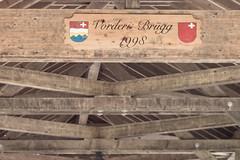Vordere Brgg (qitsuk) Tags: schweiz switzerland coveredbridge schwyz muotathal woodenbrigde muota vorderebrgg