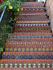 Colorful-Stairs (FagerstromFotos) Tags: stairs tile puerto colorful steps vallarta meico