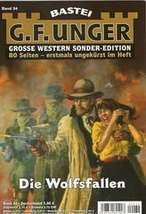 G. F. Unger: Die Wolfsfallen (willi_wuttke) Tags: western bookcover titelbild buchcover buchtitel damselsindistress gfunger