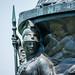 Minerva and gods of war - Arlington National Cemetery - 2014