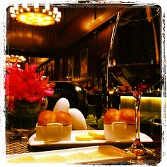 Pinot Noir, Manchego Cheese Plate, and Prime Rib. This is probably not the average night in #Shenzhen but I like it!