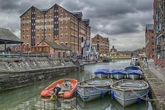Gloucester Docks HDR (damiendavis) Tags: docks gloucester hdr