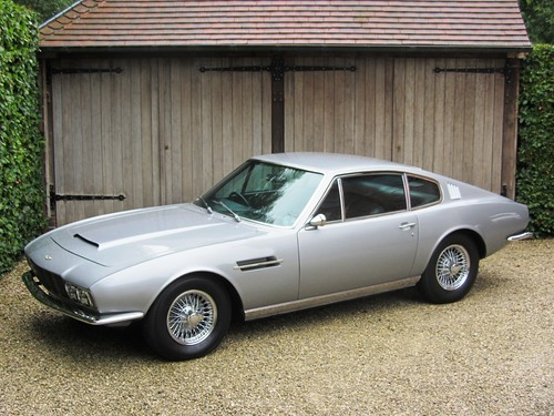 Aston Martin DBS 6 (1969).