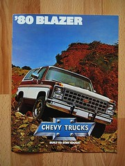 Chevrolet Blazer - 80 Blazer, Chevy Trucks_1980 (World Travel Library) Tags: world auto travel usa cars chevrolet car by ads drive photo model automobile ride image photos library go wheels transport models picture automotive center chevy photograph papers vehicle motor makes collectible collectors 1980 brochures blazer catalogue  documents fahrzeug frontcover americancars motoring wagen automobil  americanautomobiles prospekt dokument katalog worldcars salesliterature carbrochures worldtravellib