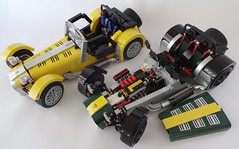 Caterham Super 7 (bricktrix) Tags: toys lego caterham legocar caterham7 caterhamseven legocaterham