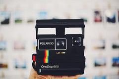 Polaroid Wall of Fame (Amanda Mabel) Tags: camera stilllife film vintage polaroid bedroom focus hand urbanoutfitters instax polaroidcamera amandamabel