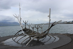 Sólfar (Sun Voyager) sculpture, Reykjavic
