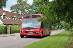 TM Travel 1181 YN56OWP (SlightlyReliable70 2010-2015) Tags: travel trees bus buses grass mercedes countryside south sheffield yorkshire group engine 2006 company solo tm halfway dore m17 totley sherburninelmet tmt optare 1181 jordanthorpe wellglade m920 yn56owp new030714totleytunneleast