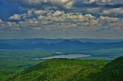 Nepisguit Lakes With Appalachians (evanlochem) Tags: park new summer mountain lake canada forest hiking lakes july brunswick mount trail summit bathurst carleton maritimes provincial eldon sagamook nepisguit