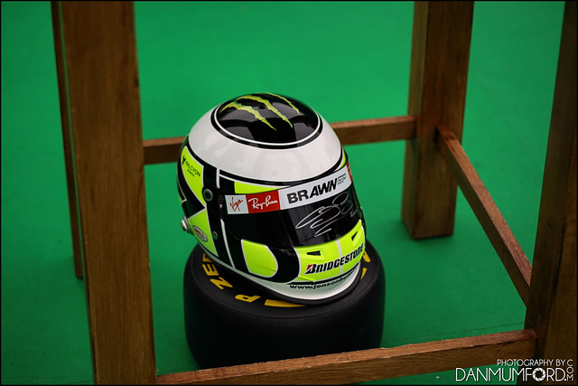 Signed Jenson Button F1 Helmet