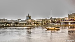 Desde el Puerto de Mlaga (ASpepeguti) Tags: espaa andaluca spain olympus andalucia andalusia malaga mlaga alandalus puertodemlaga aspepeguti mzuikodigital1442mmii olympuspenepm1 photomatixpro50