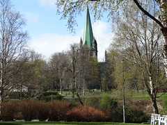 054.Trondheim (Norvge) (@bodil) Tags: norway landscape cathedral cathdrale paysage trondheim nidarosdomen norvge
