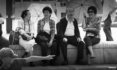 The Family (Mark Holt Photography - 4 Million Views (Thanks)) Tags: family blackandwhite liverpool streetphotography pierhead merseyside