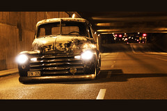 Chevrolet Pickup Truck 1950 (Drontfarmaren) Tags: chevrolet truck photo sweden pickup american session custom 1950 slammed bagged drontfarmaren