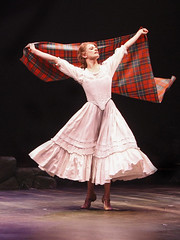 Courtney Iventosch (Jean MacLaren) in Brigadoon, produced by Music Circus at the Wells Fargo Pavilion August 5-10, 2014. Photos by Charr Crail.